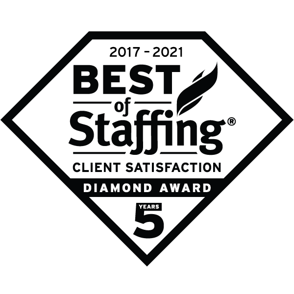 TransTech IT Staffing - 2021 Diamond Award for Client Satisfaction