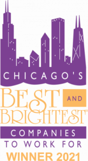 2021 Best and Brightest Award Logo